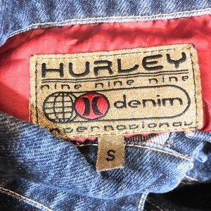 Hurley Jackets & Coats - Hurley Nine Nine Nine International Jean Jacket